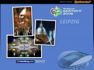 обои Чемпионат мира по футбоул в Германии. Лейпциг фото