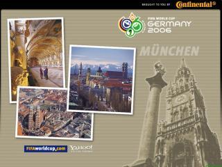 обои Чемпионат мира по футбоул в Германии. Мюнхен фото