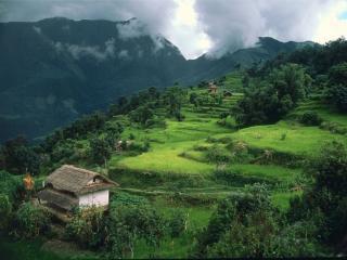 обои Деревня в Непале фото