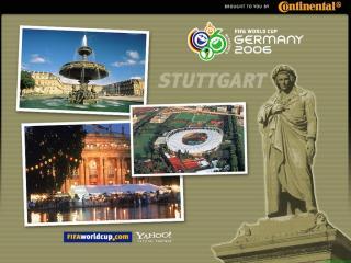 обои Чемпионат мира по футбоул в Германии. Штутгарт фото