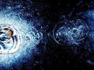 обои Круги воды и отражение фото