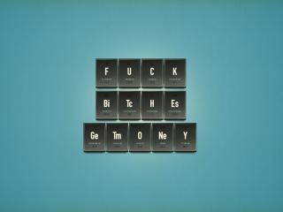 обои Фраза из элементов химии фото