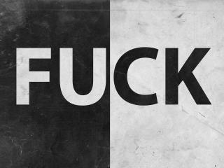 обои Черно-белая надпись фото