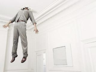обои Полет в потолок фото