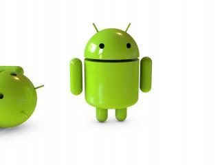 обои Андроиды зеленые фото