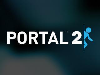 обои Portal 2,   надпись портал фото