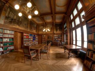 обои Интерьер библиотеки фото