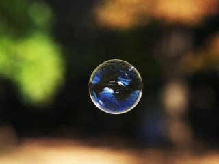 обои Узоры бульбашки фото