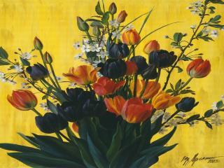 обои Букет тюльпанов фото