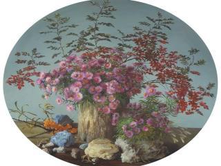 обои Цветы с облепихой фото