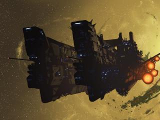 обои Космический корабль фото