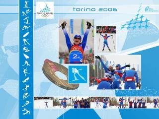 обои Олимпийские игры в Торино. Лыжные гонки фото
