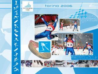 обои Олимпийские игры в Торино. Лыжи фото