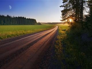 обои Дороги России фото