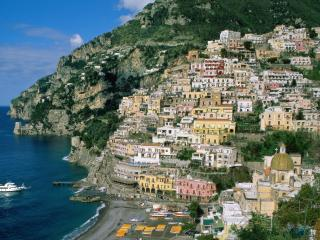 обои Приморский городок в Италии фото
