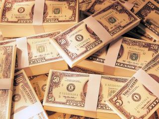 обои Разбросанные деньги фото