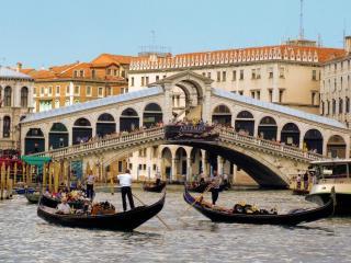 обои Речной транспорт Венеции фото