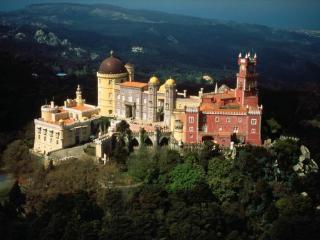 обои Старинный замок в Португалии фото