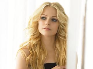 обои Блондинка аврил лавин фото