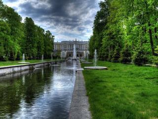 обои Знаменитые дворцовые фонтаны фото