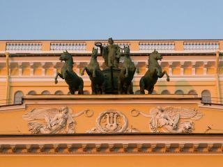обои Колесница на Александринском театре фото