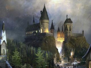 обои Сказочный замок фото