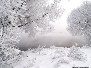 обои Зимушка-зима фото