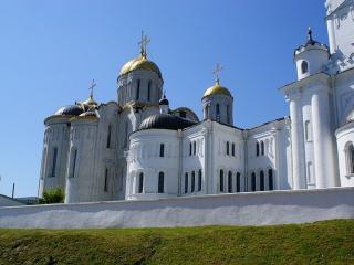 обои Храмы и Золотые купола России фото