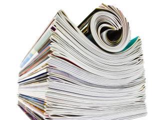 обои для рабочего стола: Журналы стопкой