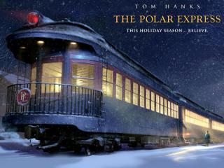 обои Полярный экспресс (The Polar Express) - поезд фото