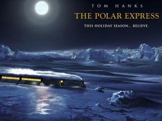 обои Полярный экспресс (The Polar Express) - холод фото