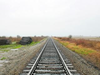 обои Железнодорожное полотно фото