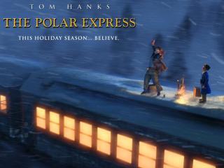 обои Полярный экспресс (The Polar Express) - фонари в поезде фото