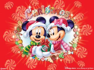 обои Мультфильмы Walt Disney  - Микки и Минни фото