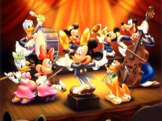 обои Мультфильмы Walt Disney - оркестр фото