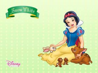 обои Мультфильмы Walt Disney  - Белоснежка и семь гномов фото