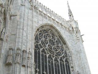 обои Вид миланского кафедрального собора фото