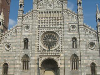 обои Вид собора дуомо в монце фото