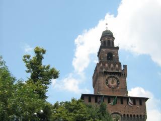 обои Главная башня филарете в милане фото