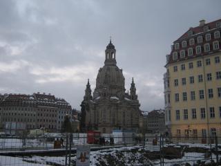 обои Евангелическо-лютеранская церковь в дрездене фото