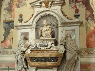 обои Гробница галилео галилея в санта кроче флоренции фото