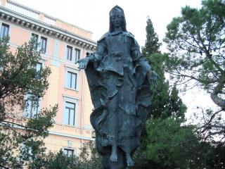 обои для рабочего стола: Скульптура женщины