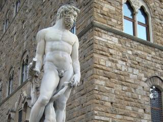 обои Скульптура флорентийского нептуна фото