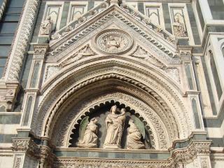 обои Скульптуры флорентийского дуомо фото