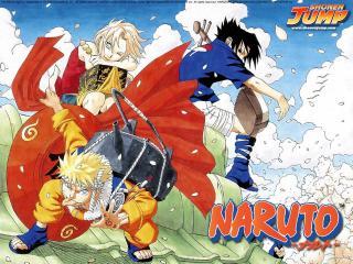 обои Naruto трое фото