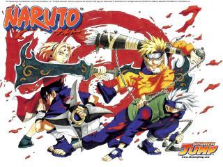 обои Naruto много крови фото