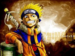 обои Naruto улыбается фото