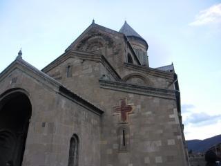 обои для рабочего стола: Православный храм в грузии