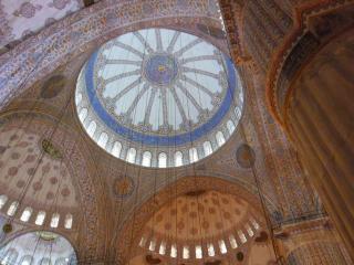 обои Розпись стен  мечети сулеймании в стамбуле фото