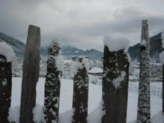 обои Горы кавказа зимой фото